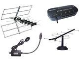 Aerials, Amps & Distribution