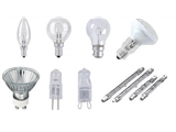 All Non LED Lamps Inc Halogen,Incandescent & Appliance