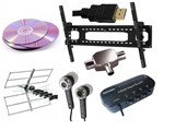 TV Mounts, AV Leads, Cables, Radios & Accessories