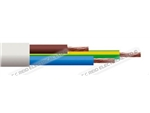 2183Y 0.5 3 CORE ROUND WHITE CABLE 100M