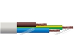 3183Y 0.75 3 CORE ROUND WHITE CABLE 100M