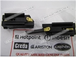 CARBON BRUSH & HOLDER BLACK GENUINE HOTPOINT & CREDA