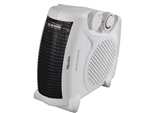 FAN HEATER UPRIGHT OR FLAT 2 HEAT 1KW OR 2KW F2003WH
