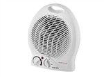 FAN HEATER DUAL HEAT 1KW & 2KW THERMOSTAT & CUT OUT