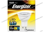 ENERGIZER DIMMABLE LED GU10 4K COOL WHITE 5.7W 360LM