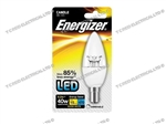 ENERGIZER DIMMABLE LED CANDLE SBC B15 27K 6.2W 470LM